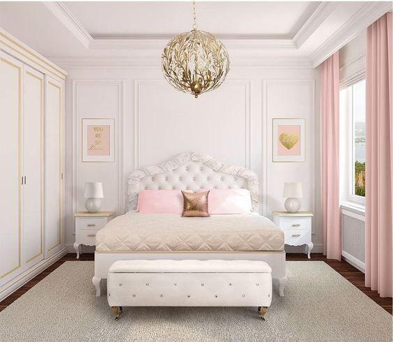 Beautifully Elegant Bedroom Lighting Ideas