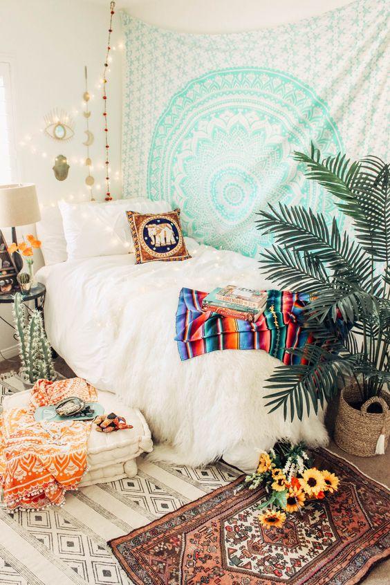 bohemian bedroom ideas 10