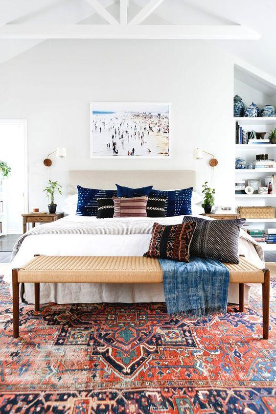 bohemian bedroom ideas 14