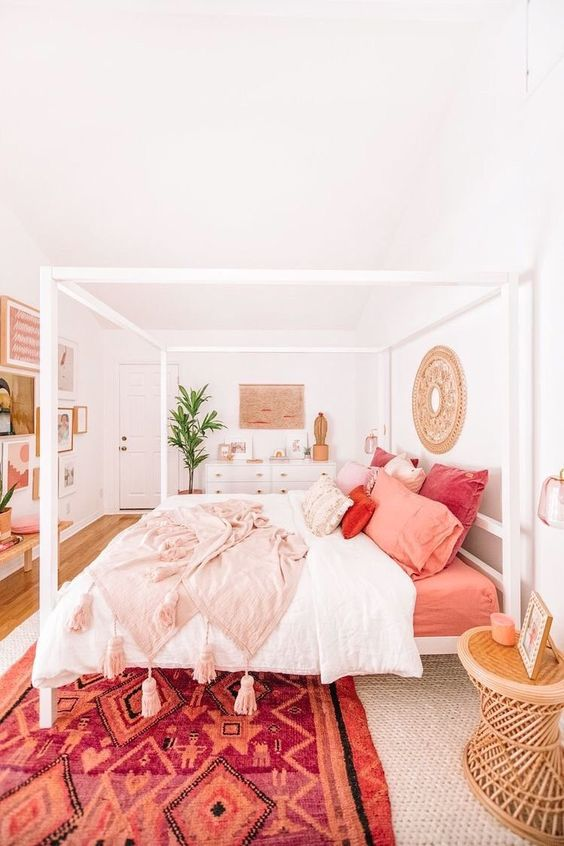 bohemian bedroom ideas 9