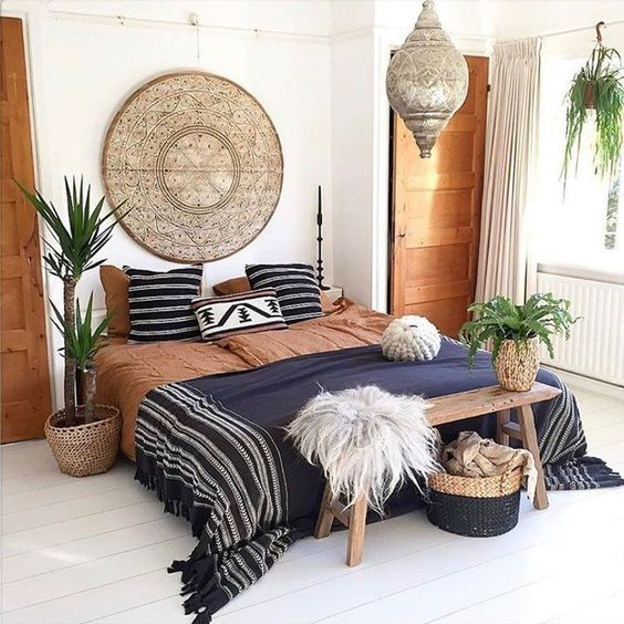 Chic and Cozy Bohemian Bedroom Ideas