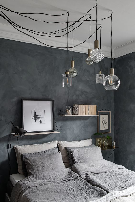Industrial Bedroom Ideas: Expose The Cables