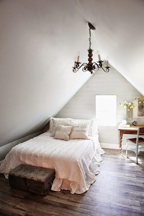 Attic Bedroom Ideas: Keep It Simple