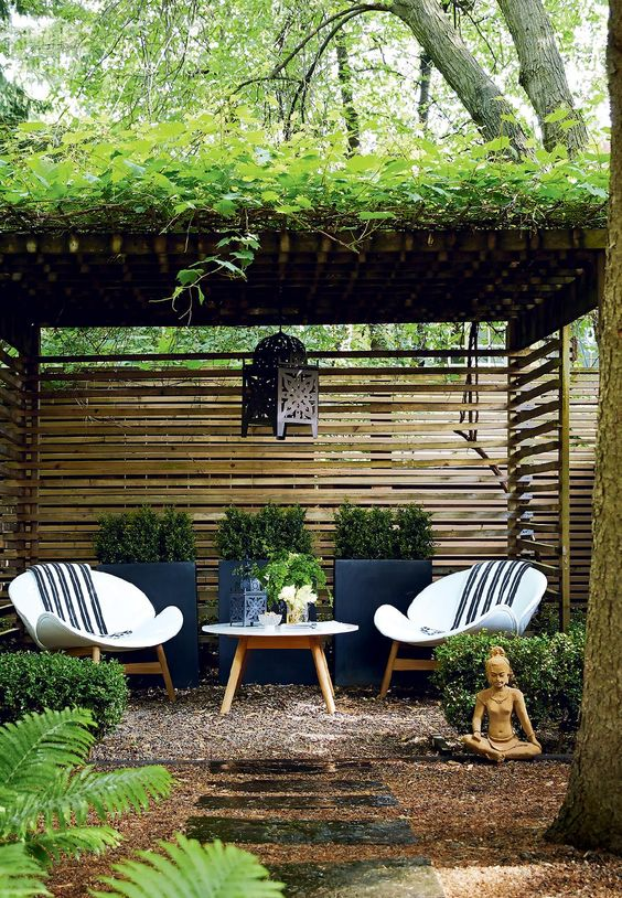 Backyard Sitting Area Ideas: Add Another Feature