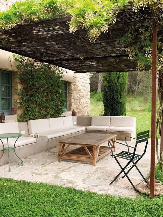 backyard sitting area ideas 9