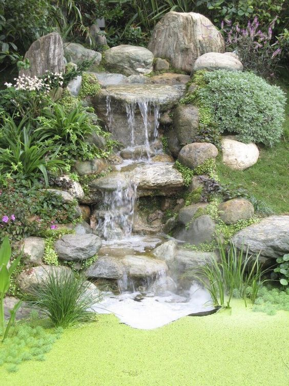 backyard waterfall ideas 10