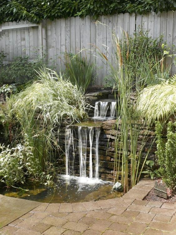 Backyard Waterfall Ideas: Do It Yourself