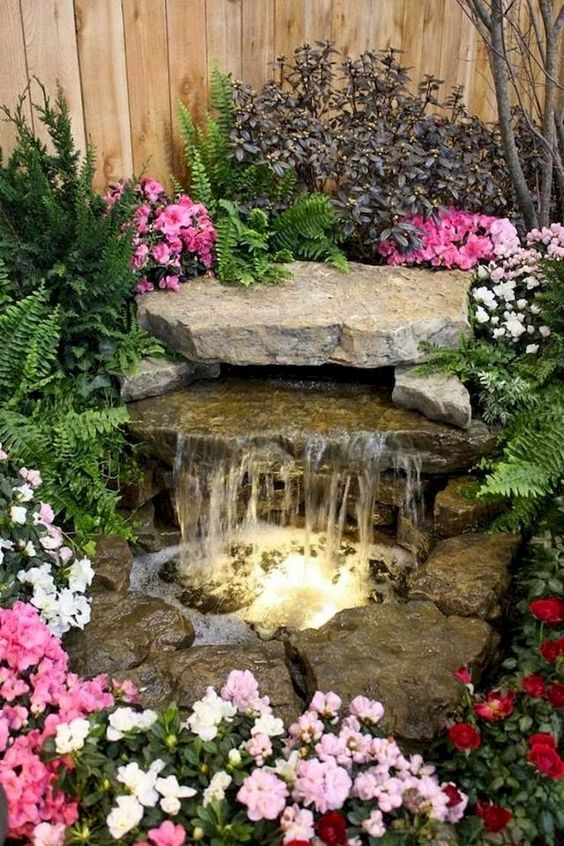 backyard waterfall ideas 6