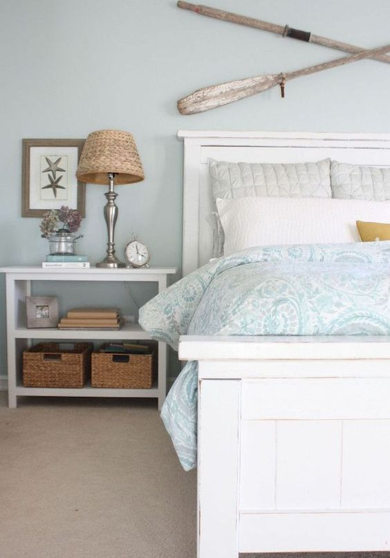 Beach Bedroom Ideas: Go with Softer Color