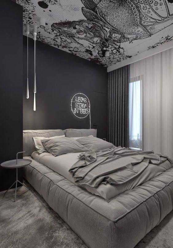grey bedroom ideas 18