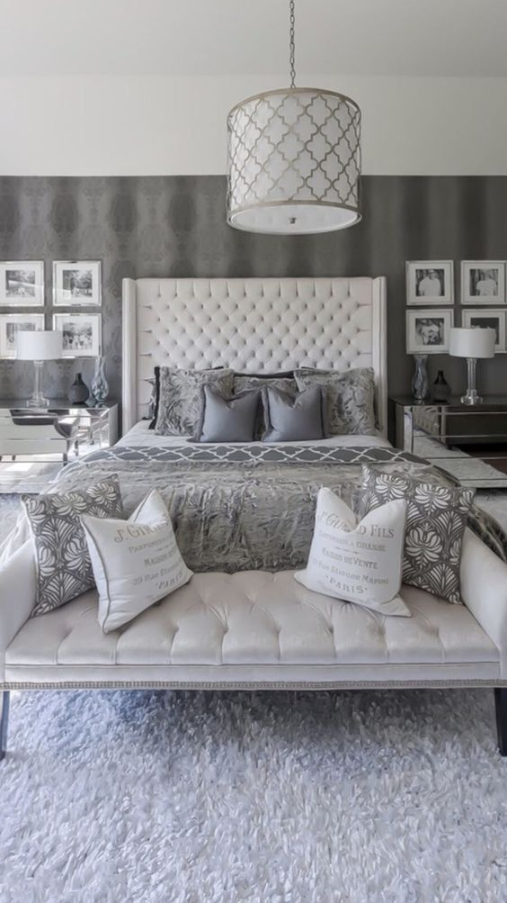 Grey Bedroom Ideas: Add Texture and Pattern