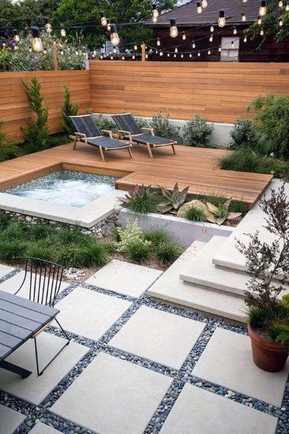 hot tub outdoor 18