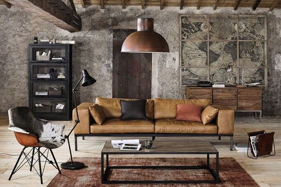 Captivating Industrial Living Room Ideas For Modern Vibe Decorface Com