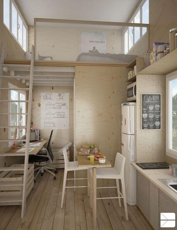 Loft Bedroom Ideas: Rustic Loft