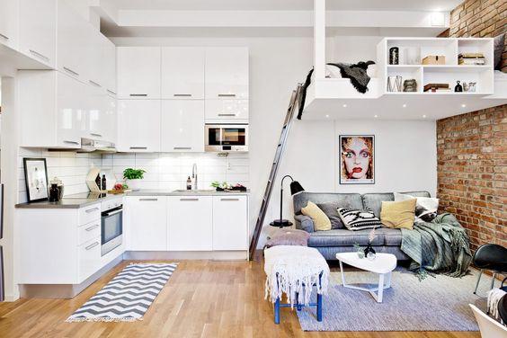 Stylish and Multi-Functional Loft Bedroom Ideas