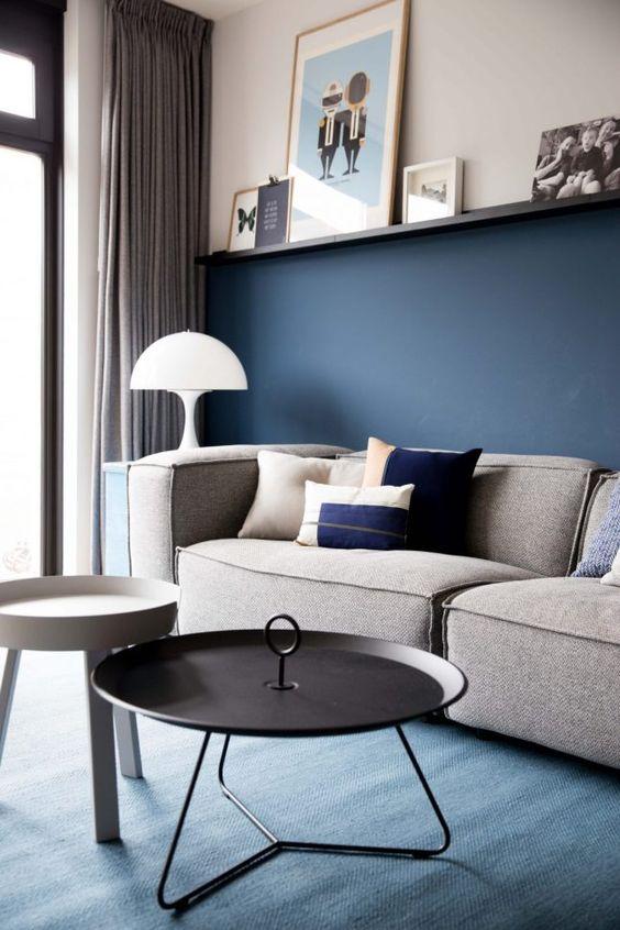 navy living room ideas 10