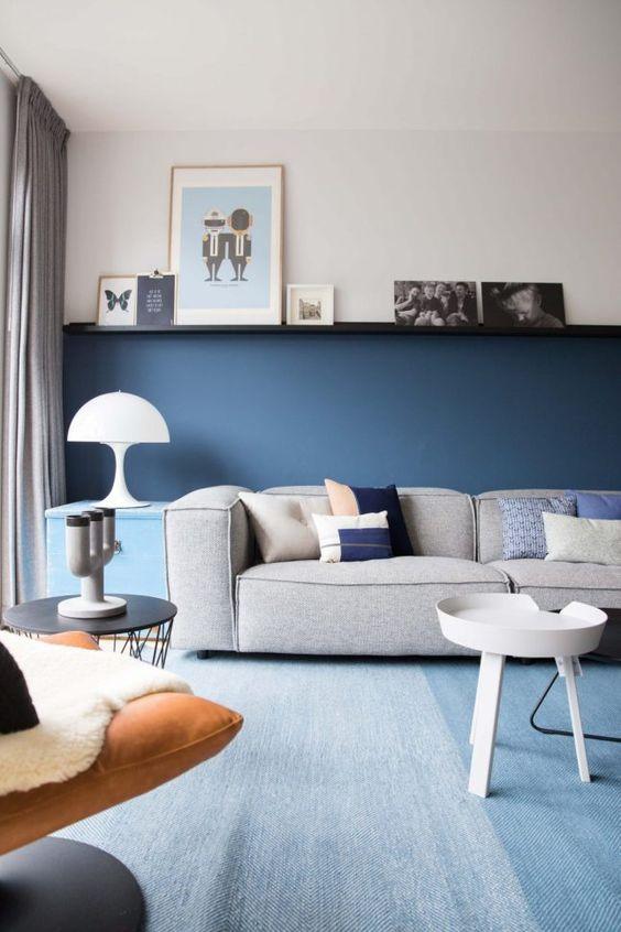 navy living room ideas 13