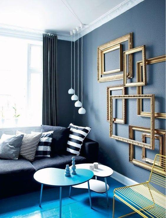navy living room ideas 15