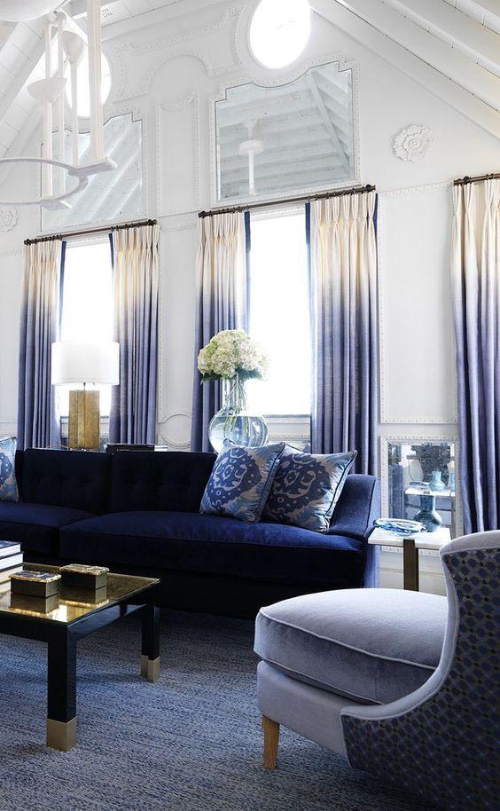 navy living room ideas 17