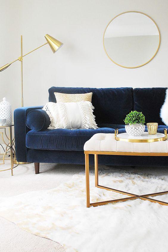 navy living room ideas 18