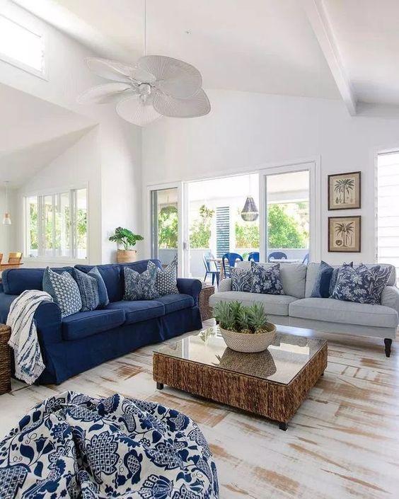 navy living room ideas 8