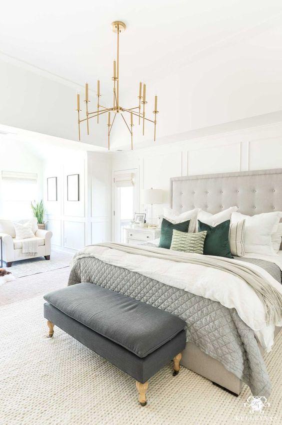 Neutral Bedroom Ideas: Stunning Gray