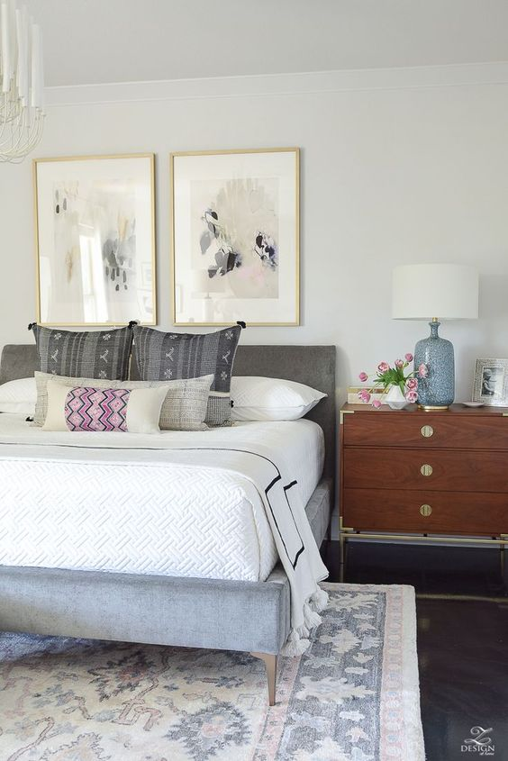 Neutral Bedroom Ideas: Pattern and Texture