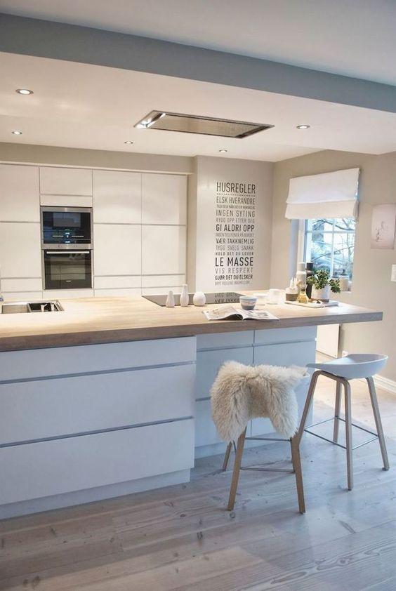 Scandinavian Kitchen Ideas: Sleek Kitchen