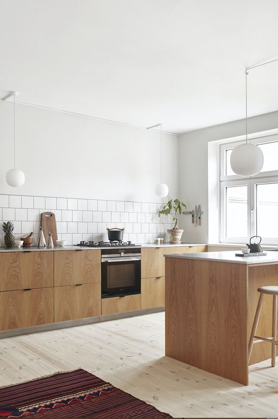 Scandinavian Kitchen Ideas: Earthy and Fresh Kitchen
