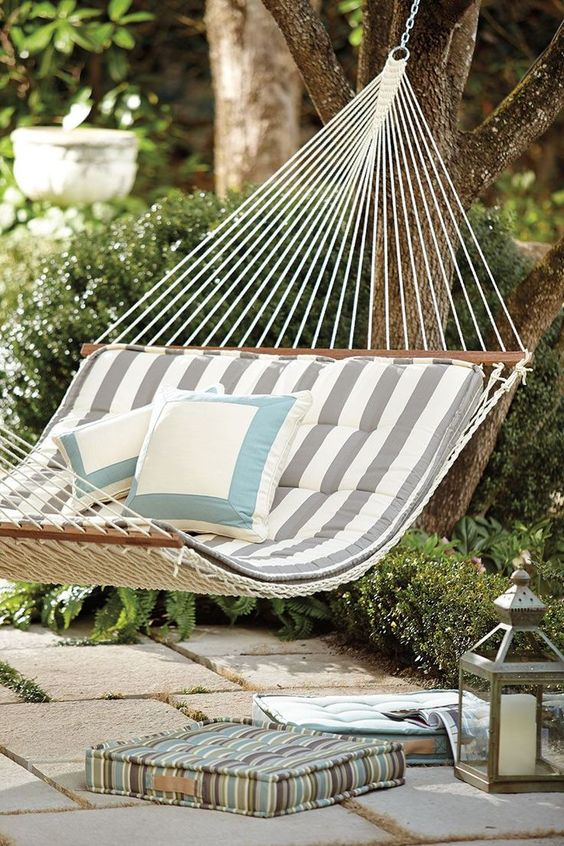 backyard hammock ideas 14