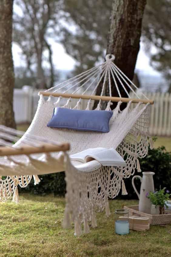 backyard hammock ideas 18