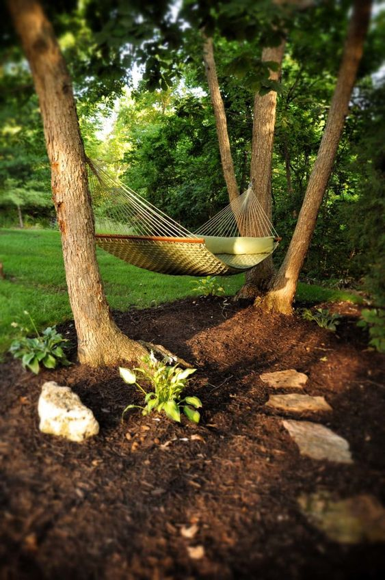 backyard hammock ideas 8