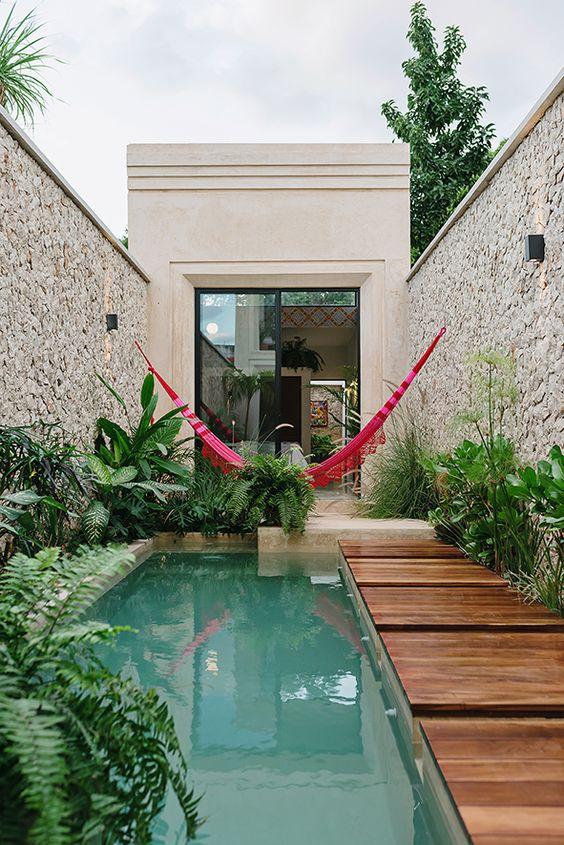 backyard with pools ideas 17