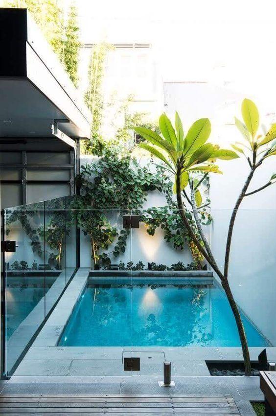 Backyard with Pools Ideas: Modern Swimming Pool