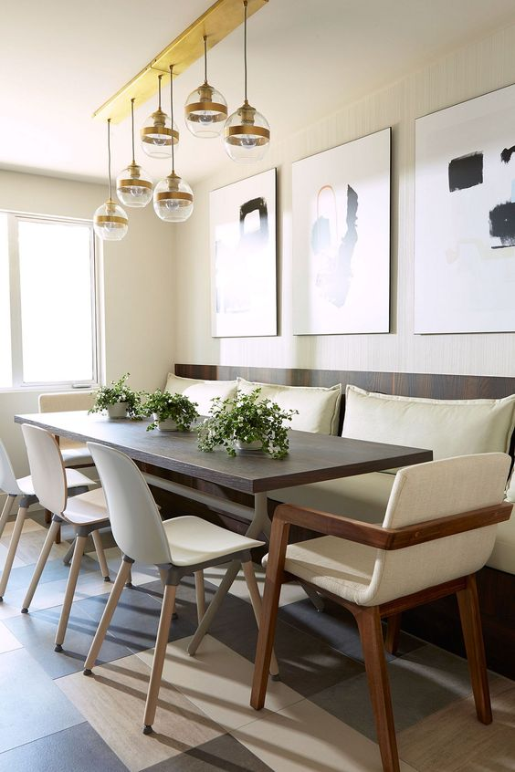 Casual Dining Room Ideas: Relaxing Dining Set
