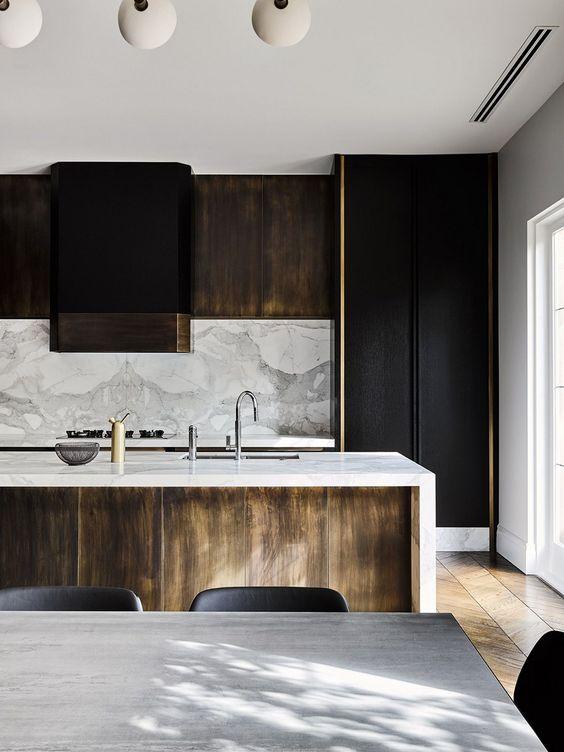 dark kitchen ideas 13