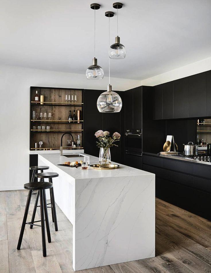 dark kitchen ideas 19