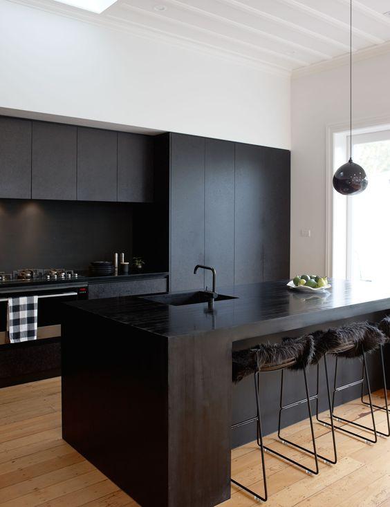 dark kitchen ideas 6