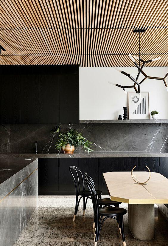 dark kitchen ideas 9