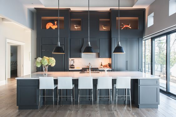 Stylishly Bold Dark Kitchen Ideas You Might Want to Try