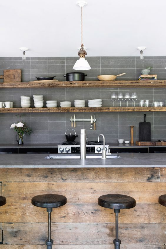 kitchen shelves ideas 13