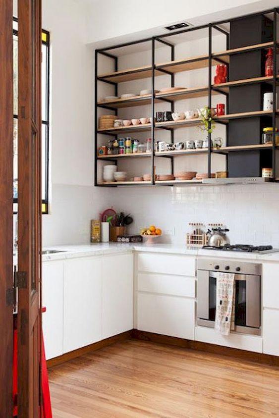 kitchen shelves ideas 17