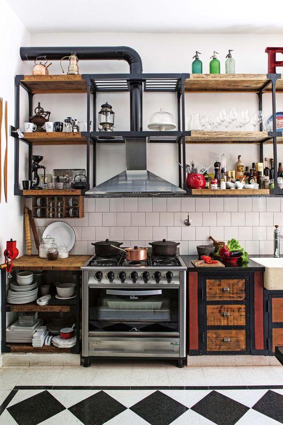 kitchen shelves ideas 18
