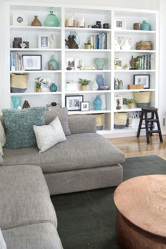 Living Room Shelves Ideas: Breathtaking Showcase