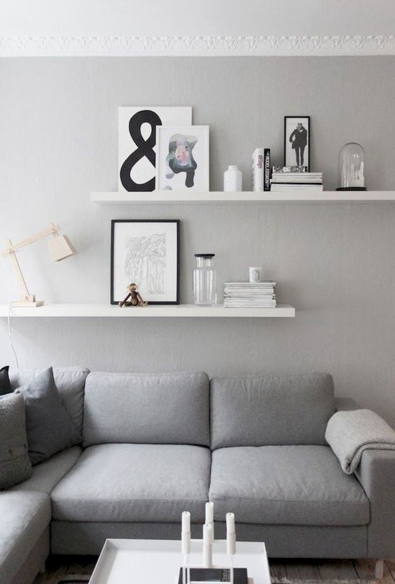 living room shelves ideas 7