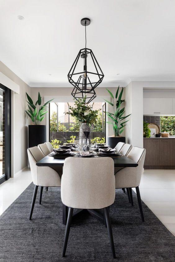 Modern Dining Room Ideas: Stunning Dining Room