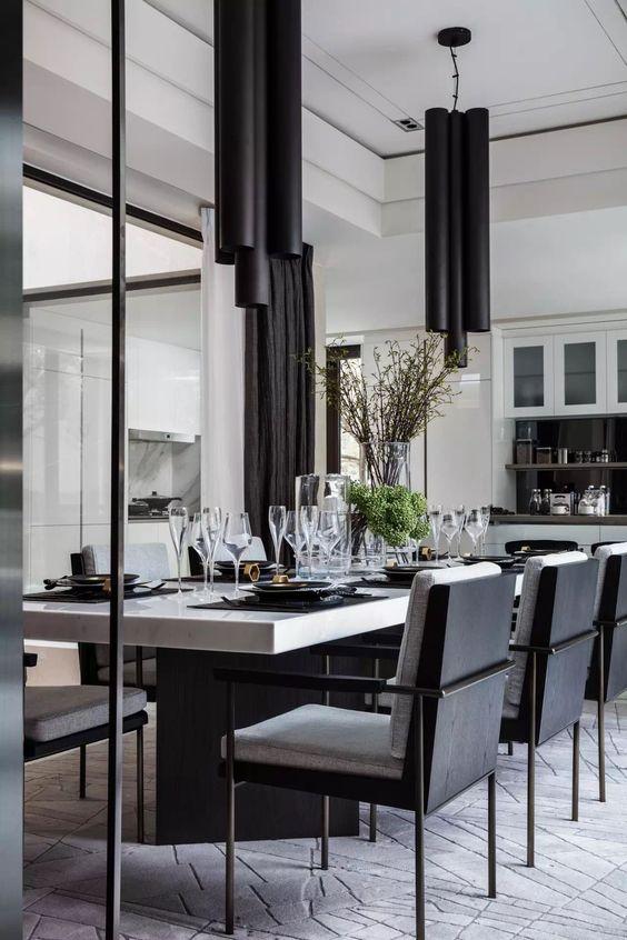 modern dining room ideas 12