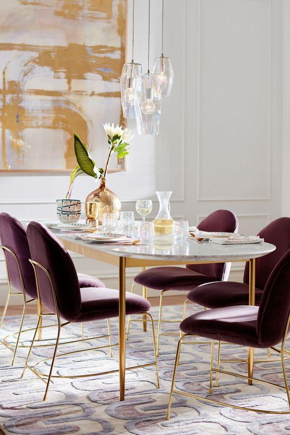 Modern Dining Room Ideas: Shining Dining Room