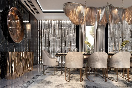 Stylish Modern Dining Room Ideas For Modern House