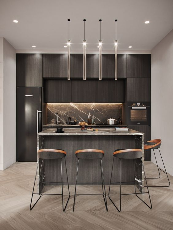 Modern Kitchen Ideas: Eye-Catching Pendants